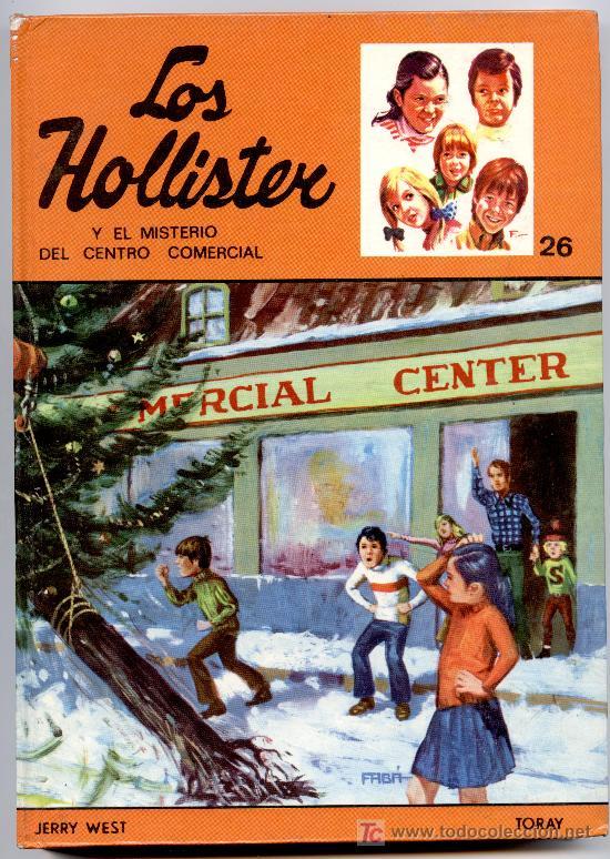 Portada del libro Los Hollister
