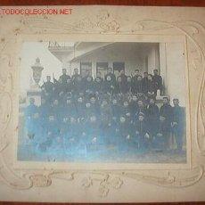 Fotografía antigua: FOTO DE UN GRUPO DE SOLDADOS DE ARTILLERÍA, 22,5 X 17,5 CMS.. Lote 15495617