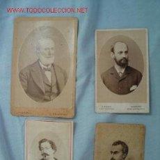 Fotografía antigua: FOTOGRAFÍAS SIGLO XIX. Lote 13386213