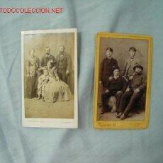 Fotografía antigua: FOTOGRAFÍAS SIGLO XIX. Lote 13386215
