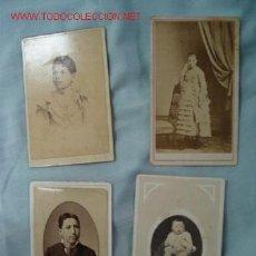Fotografía antigua: FOTOGRAFÍAS SIGLO XIX. Lote 13386217