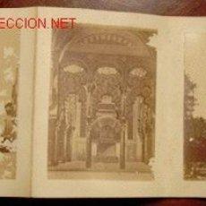 Fotografía antigua: CORDOBA: 8 ALBUMINAS EN ÁLBUM ACORDEÓN.. Lote 26327233