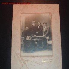 Fotografía antigua: FOTO ANTIGUA DE FAMILIA,PRINCIPIOS DE SIGLO XX. Lote 1141522