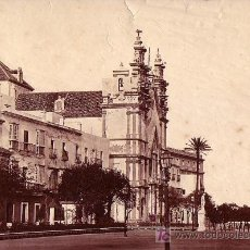 Fotografía antigua: CÁDIZ. FOTOGRAFÍA DE CHARLES CLIFFORD. AÑO 1862. ALBÚMINA EXPRIMENTAL SIN MONTAR 24,5X37,5CM.. Lote 27464937