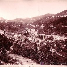 Fotografía antigua: NAPOLES. LA CAVA PONTE DELLA STRADA FERRATA. FOTOGRAFÍA: GIORGIO SOMMER. 1870'S APROX.. Lote 12532437