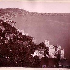 Fotografía antigua: NAPOLES. DA POSILIPO. FOTOGRAFÍA: GIORGIO SOMMER, 1870' APROX.. Lote 9317849