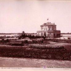 Fotografía antigua: LAGO DEL FUSARO. NAPOLES. FOTOGRAFÍA: GIORGIO SOMMER, 1870'S APROX.. Lote 11497018