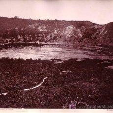 Fotografía antigua: POZZUOLI, LE ZOLFATARA. ITALIA. FOTOGRAFÍA: GIORGIO SOMMER, 1870'S APROX.. Lote 11416556