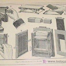 Fotografía antigua: LA FOTOGRAFIA MODERNA - 1889- LONDE, ALBERTO - PRACTICA Y APLICACIONES. CON FIGURAS EN EL TEXTO. Y L. Lote 26793518