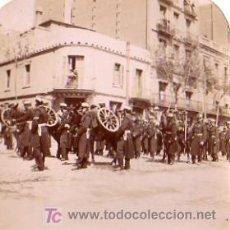 Fotografía antigua: FOTOGRAFIA MILITAR REGIMIENTO ARTILLERIA DE MONTAÑA CUARTEL DE SANT AGUSTI . Lote 6227099