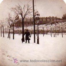 Fotografía antigua: FOTOGRAFIA EN BARCELONA AÑO 1918 GRAN VIA FRENTE A LA MONUMENTAL. Lote 6227208