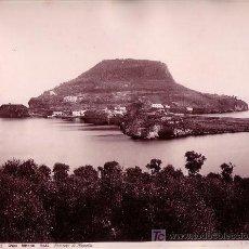 Fotografía antigua: CAPO MISENO. ALREDEDORES DE NÁPOLES. FOTO: GIORGIO SOMMER, 1880 APROX.. Lote 9019380