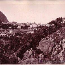Fotografía antigua: CAPRI DESDE PUNTA TRAGARA. ITALIA. FOTOGRAFÍA DE GIORGIO SOMMER, 1880 APROX.. Lote 14375125