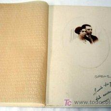 Fotografía antigua: FOTOGRAFÍA DE PAREJA DEDICADA ESTUDIO ZALDÚA BILBAO DE 1932. Lote 6427192