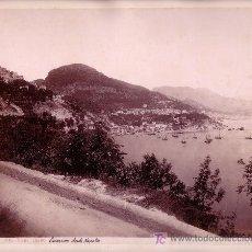 Fotografía antigua: SALERNO, NÁPOLES. FOTO DE GIORGIO SOMMER. 1880 APROX.. Lote 14485505
