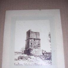 Fotografía antigua: TARRAGONA, SEPULCRO DE LOS SCIPIONES. Lote 10482063