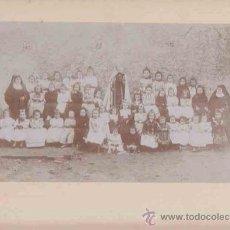Fotografía antigua: FOTOGRAFIA ESCUELA DE NIÑAS PRINCIPIOS SIGLO XX TAMAÑO 250X330. Lote 8275089