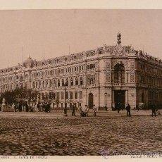 Fotografía antigua - MADRID. Nº 104. BANCO DE ESPAÑA. Fototipia. HAUSER Y MENET. Madrid,1894. - 17782382