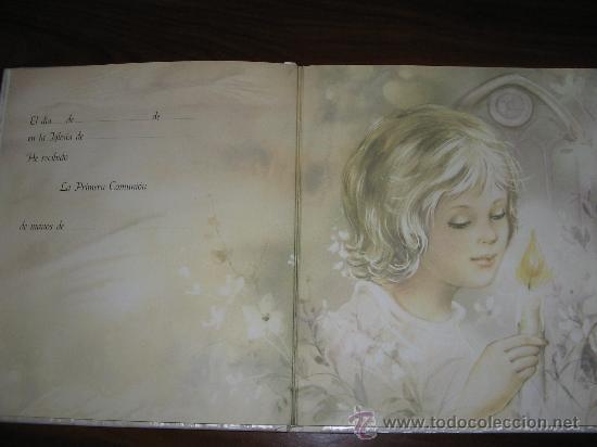 Fotografía antigua: Álbum primera comunión - Foto 3 - 26676943