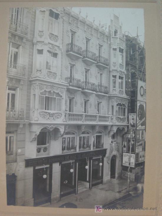Fotografía antigua: CASA EN MADRID CONSTRUIDA CON CEMENTO PORTLAND ARTIFICIAL MARCA 'ASLAND'. (FOT. A. VELA.) - Foto 2 - 9333128