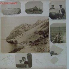 Fotografía antigua: 2 ALBUMINAS - CORDOBA Y BAHIA DE LOS CATALANES (GIBRALTAR). Lote 27014591