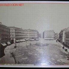 Fotografía antigua: FOTOGRAFIA ORIGINAL LAURENT (ALBUMINA). MADRID. PUERTA DEL SOL. SIGLO XIX.. Lote 25089843