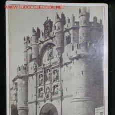 Fotografía antigua: FOTOGRAFIA ORIGINAL LAURENT (ALBUMINA). BURGOS. EL ARCO DE SANTA MARÍA.. Lote 12029027