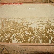 Fotografía antigua - ANTIGUA E IMPORTANTE FOTOGRAFIA ORIGINAL DE VILLAGARCIA DE AROSA - EN LA PARTE TRASERA PONE - GRANDI - 27373722