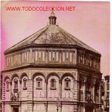 Fotografía antigua: FOTOGRAFIA FIRENZE ITALIA , MIDE APROXIMADAMENTE 10 X 15 CTMS. F5. Lote 20024380