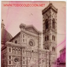 Fotografía antigua: FOTOGRAFIA FIRENZE ITALIA , MIDE APROXIMADAMENTE 10 X 15 CTMS. F6. Lote 26661954
