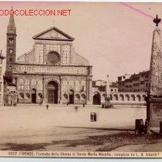 Fotografía antigua: FOTOGRAFIA FIRENZE ITALIA , MIDE APROXIMADAMENTE 10 X 15 CTMS. F8. Lote 20024378