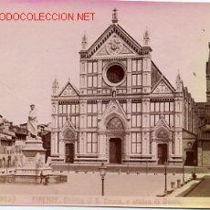 Fotografía antigua: FOTOGRAFIA FIRENZE ITALIA , MIDE APROXIMADAMENTE 10 X 15 CTMS. F9. Lote 20024381