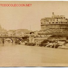 Fotografía antigua: FOTOGRAFIA ROMA ITALIA , CASTILLO, MIDE APROXIMADAMENTE 10 X 15 CTMS. F36. Lote 20124426