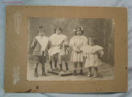 FOTOGRAFÍA INFANTIL. SANTANDER (Fotografía Antigua - Albúmina)