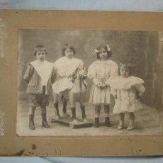 Fotografía antigua: FOTOGRAFÍA INFANTIL. SANTANDER. Lote 15785742