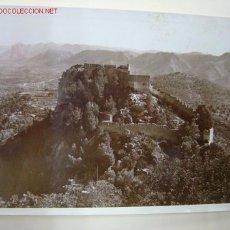 Fotografía antigua: JATIVA (VALENCIA) - CASTILLO. Lote 10757689