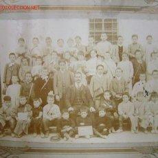Fotografía antigua: CREO QUE ES COCENTAINA (ALICANTE) - ESCUELA SUPERIOR. Lote 10757692