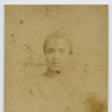 Fotografía antigua: NAPOLEON. JOVEN DAMA. CIRCA 1870. BARCELONA. Lote 10158826
