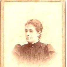 Fotografía antigua: FOTOGRAFIA ALBUMINA PEGADA EN CARTON FOTOGRAFO J. MARTI BARCELONA . Lote 10597940