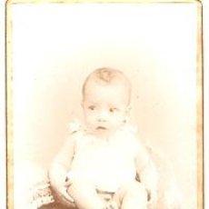 Fotografía antigua: FOTOGRAFIA ALBUMINA PEGADA EN CARTON FOTOGRAFO E. SAGRISTA . Lote 10598118
