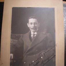 Fotografía antigua: RETRATO DE HOMBRE. 1912. Lote 27606034