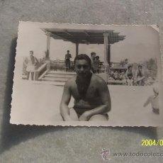 Fotografía antigua: ANTIGUA FOTOGRAFÍA (7 X 10 CM.)- SANTA POLA ALICANTE- 1956. Lote 19069271