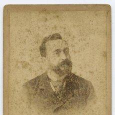 Fotografía antigua: RUPERTO CHAPÍ. FOTOGRAFÍA DEL MÚSICO. F: ESPLUGAS. BARCELONA. CIRCA 1890. Lote 25597783