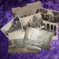 Fotografía antigua: SEGOVIA LOTE DE 8 FOTOGRAFIAS DE LA ACADEMIA Y MILITARES. Lote 11467964
