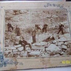 Fotografía antigua: ANTIGUA FOTOGRAFÍA-MONTADA EN CARTÓN.- 15.5 X 20.5 CM., LA FOTO Y 22 X 26.5 CM., EL CARTÓN. Lote 22913848