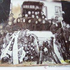 Fotografía antigua: ANTIGUA FOTOGRAFÍA-MONTADA EN CARTÓN ( ESTE ESTÁ RECORTADO).- 20 X 25.5 CM., LA FOTO . Lote 22913849