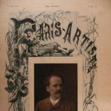 Fotografía antigua: JULES MASSENET - 1842-1912.COMPOSITOR FRANCÉS.. Lote 27277095
