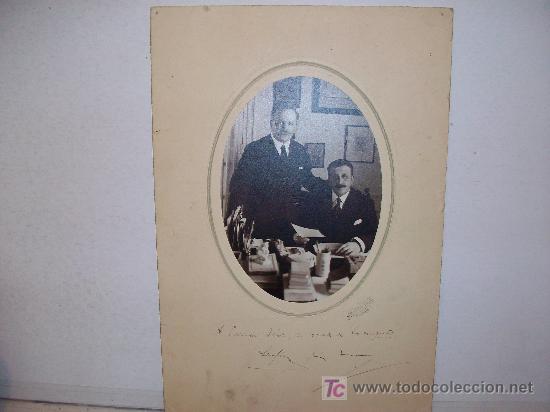 Fotografía antigua: HERMANOS ALVAREZ QUINTERO ( Serafín y Joaquín ), Dedicatoria Autógrafa Orginal ¡ ver ! - Foto 4 - 26791511