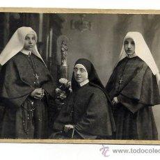 Fotografía antigua: FOTO BELTRAN-ZARAGOZA RELIGIOSAS TAMAÑO POSTAL. Lote 13002969