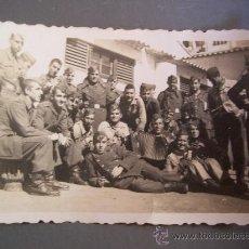 Fotografía antigua: PEQUEÑA FOTO MILITAR (6X9CM APROX, ESTUDIO LEONAR). Lote 20283820